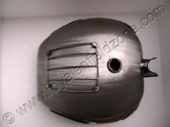 FUEL TANK WITH GRILL,KNEE PADS AND BRASS MONO (35 LITRES)