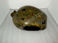 FUEL TANK 25 LITRES WITH PADS IN CAMOUFLAGE