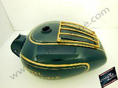 FUEL TANK WITH HAND PAINT LINKING AND GRILL
